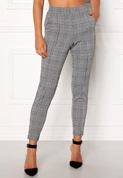 BUBBLEROOM Brienne trousers Grey / Checked Bubbleroom.no