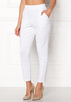 BUBBLEROOM Brienne trousers White Bubbleroom.no