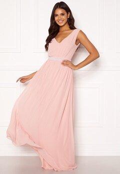 BUBBLEROOM Candance pearl prom dress Dusty pink Bubbleroom.no