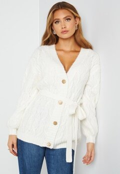 Bubbleroom Care Mary Knitted Cardigan Offwhite bubbleroom.no