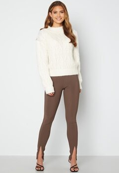 Bubbleroom Care Verina Knitted Sweater Offwhite bubbleroom.no