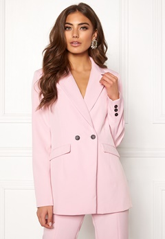 BUBBLEROOM Carolina Gynning Blazer Light pink Bubbleroom.no