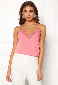 BUBBLEROOM Carolina Gynning Lace Camisole Dusty pink Bubbleroom.no