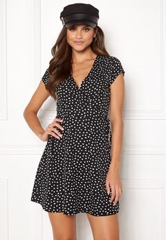 BUBBLEROOM Caylee dress Black / White / Dotted Bubbleroom.no