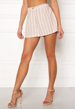 BUBBLEROOM Chiselle shorts Beige / Striped Bubbleroom.no