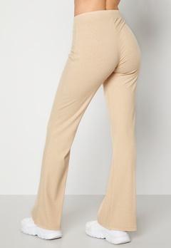 BUBBLEROOM Cozensa rib trousers Beige melange bubbleroom.no