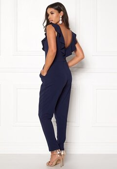 BUBBLEROOM Cyra jumpsuit Dark blue Bubbleroom.no