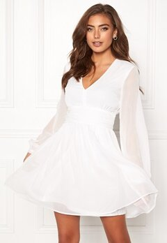 BUBBLEROOM Dahlia dress White Bubbleroom.no