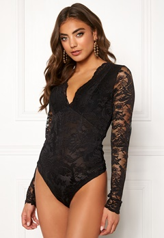 BUBBLEROOM Demi lace body Black Bubbleroom.no