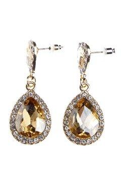 BUBBLEROOM Drops crystal earring Gold Bubbleroom.no