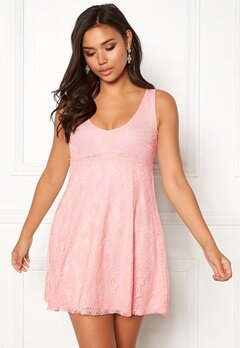 BUBBLEROOM Elly lace dress Light pink Bubbleroom.no