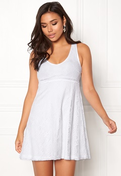 BUBBLEROOM Elly lace dress White Bubbleroom.no