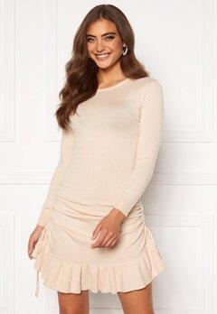 BUBBLEROOM Elna knitted dress Cream Bubbleroom.no