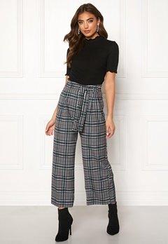 BUBBLEROOM Felicia trousers Grey / Checked Bubbleroom.no