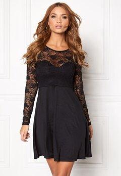 BUBBLEROOM Grace lace dress Black Bubbleroom.no