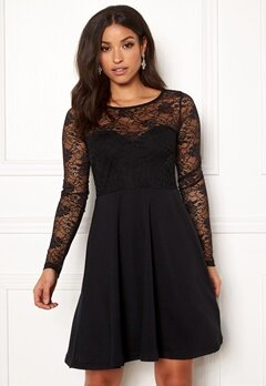 BUBBLEROOM Grace lace dress Black Bubbleroom.no