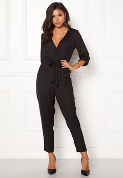 08655d32 BUBBLEROOM Harlie jumpsuit Black Bubbleroom.no