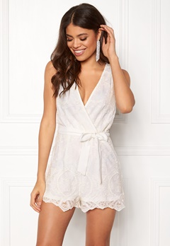 BUBBLEROOM Hazel playsuit White Bubbleroom.no