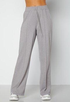 BUBBLEROOM Heiden soft sweat pants Grey melange bubbleroom.no