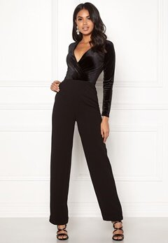 BUBBLEROOM Heidi jumpsuit Black Bubbleroom.no