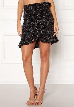 BUBBLEROOM Ida skirt Black / White / Dotted Bubbleroom.no