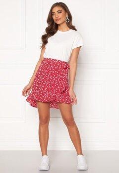 BUBBLEROOM Ida skirt Red / White / Floral Bubbleroom.no
