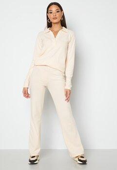 BUBBLEROOM Iliza soft trousers Cream bubbleroom.no