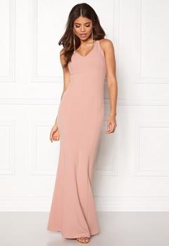 BUBBLEROOM Jaylin prom dress Dusty pink Bubbleroom.no
