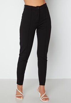BUBBLEROOM Joanna soft slim leg trousers Black bubbleroom.no
