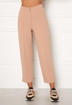 BUBBLEROOM Joanna soft suit pants Beige Bubbleroom.no