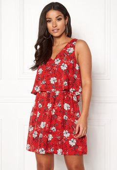 BUBBLEROOM Jolie Dress Red / Print Bubbleroom.no
