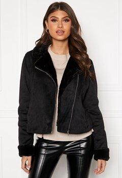 BUBBLEROOM Julia biker jacket Black Bubbleroom.no