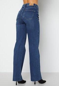 BUBBLEROOM June raw edge jeans Dark denim bubbleroom.no