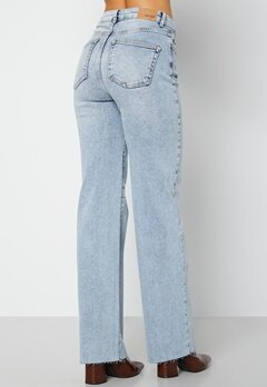 BUBBLEROOM June raw edge jeans Light denim bubbleroom.no