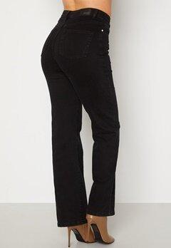 BUBBLEROOM June wide leg  jeans Black denim bubbleroom.no