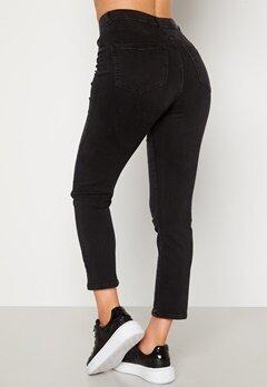 BUBBLEROOM Lana high waist jeans Black denim bubbleroom.no