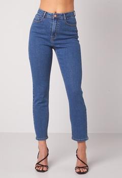 BUBBLEROOM Lana high waist jeans Medium blue bubbleroom.no