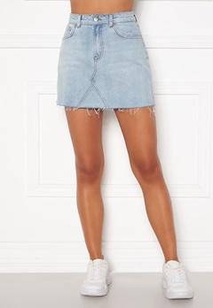 BUBBLEROOM Laney denim skirt Light denim Bubbleroom.no