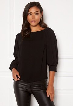 BUBBLEROOM Lavina blouse Black Bubbleroom.no