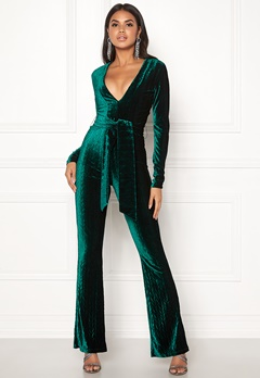 BUBBLEROOM Lene jumpsuit Green Bubbleroom.no