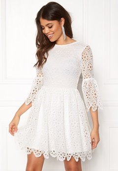 BUBBLEROOM Litzy Dress White Bubbleroom.no