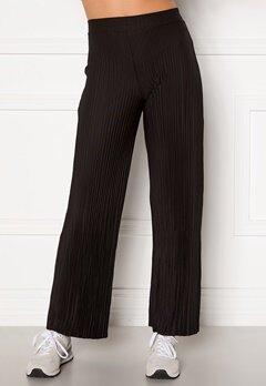 BUBBLEROOM Lola pleated trousers Black Bubbleroom.no
