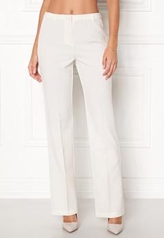 BUBBLEROOM London Suit Pants White Bubbleroom.no