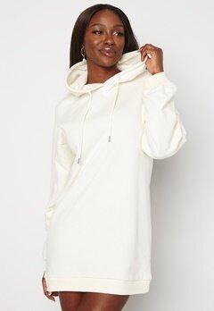 BUBBLEROOM Lorena sweat dress Offwhite Bubbleroom.no
