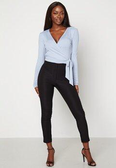 BUBBLEROOM Lorene stretchy suit trousers Black bubbleroom.no