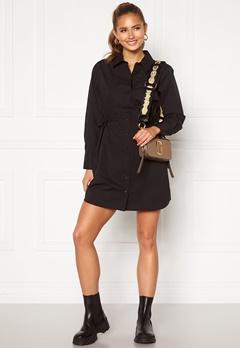 BUBBLEROOM Lorina shirt dress Black Bubbleroom.no