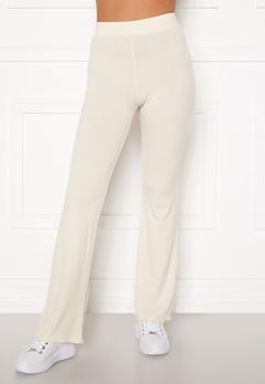 BUBBLEROOM Lykke rib trousers Cream Bubbleroom.no