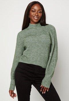 BUBBLEROOM Madina knitted sweater Green bubbleroom.no