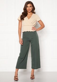 BUBBLEROOM Maja culotte trousers Green Bubbleroom.no