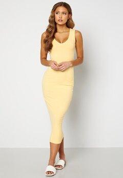 BUBBLEROOM Majda mini dress Yellow Bubbleroom.no